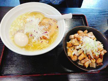 【麺屋 晴】煮干しラーメン専門店のご紹介♪長野市役所近く!!さっぱり系なラーメン☆