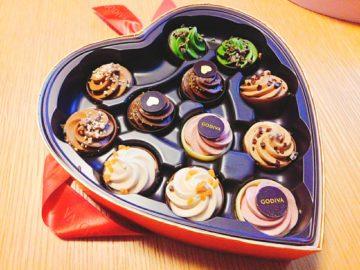 【ゴディバ】GODIVAバレンタインデーのチョコレートが可愛い♡