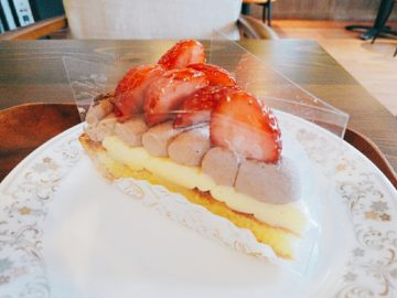 閉店【シェリーブラン長野】フルーツタルト専門店☆生地サクサクの美味しいタルトカフェ。