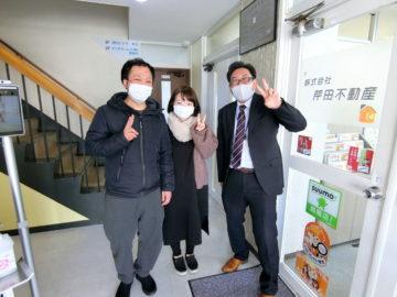 【お客様の口コミ】長野県出身 J・T様より賃貸アパート探しの感想を頂きました