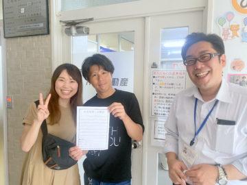 【お客様の口コミ】佐賀県出身 N・D様より賃貸アパート探しの感想を頂きました