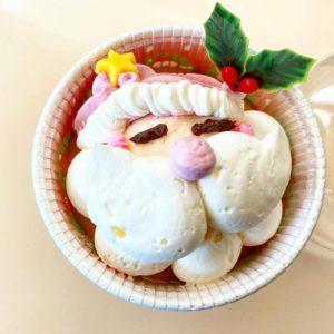 【カップケーキ工房TEMO.jp(テモドットジェイピー)アトリエショップ】須坂市デコレーションのハリネズミやサンタクロースが可愛い!
