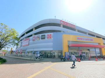【ケーズタウン】1階にあるお店特集。スーパーマーケット原信など
