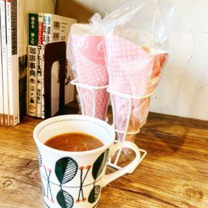 【ジオグラフィー・森のくまさんクレープ移動販売】美味しい珈琲と共に、クレープが食べられる幸せ☆