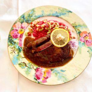 【ビストロクエルドクエル】オリンピックの時に提供した、スーパーフードライスのステーキ!
