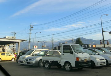 菅平の初雪