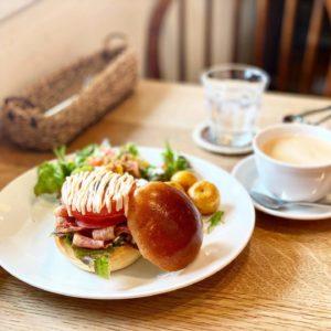 【パンポルカ】美味しいパン屋のランチ。ランチカフェ限定BLTサンドも美味い☆