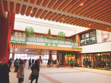 長野駅の中