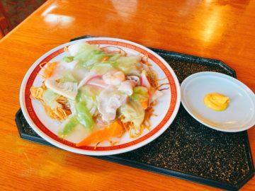 【富くどり食堂(ふくどり)】長野市中御所の定食屋さん。あんかけ焼きそばがオススメです!