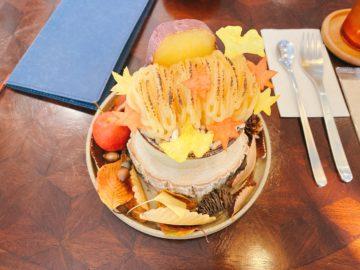 【dessert&cafe Deko(デセールアンドカフェデコ)】つぼ焼き芋パフェが美味い!ルビーの靴コラボパフェ☆