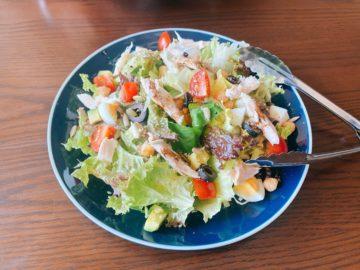 【洋食酒場chelu(チェルー)】ダイエット中のあなた!パワーサラダがとても美味しくてヘルシーでしたよ!
