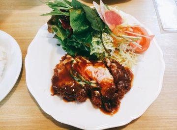 【キッチングリーンピース】桐原駅近く、昔ながらの美味しい定食屋さん☆