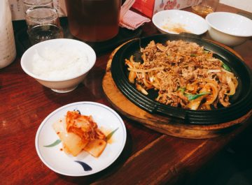 【韓国家庭料理 むくげの花】ナムル・キムチ・スープ・サラダ・ごはんおかわり無料☆