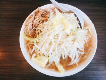 【麺とび六方(めんとびろっぽう)】2018年11月9日オープン!ガッツリ二郎系ラーメン屋さん。