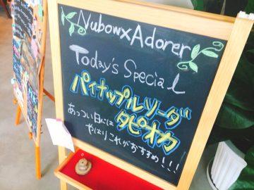 Nubow×Adorer ヌボーアドレ