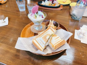 【Rui cafe(ルイカフェ)】長野市金箱にある、ゆったりくつろげるカフェ。小上がりもあり、子連れも嬉しい。
