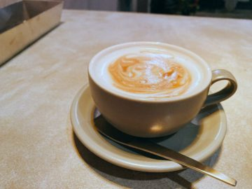 【N4.5 Espresso&Diner】2020年1月29日新規オープンのカフェバー。ハニーミルクラテ、ほわほわでめっちゃ美味しい!