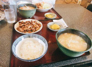 長野 市 定食 屋