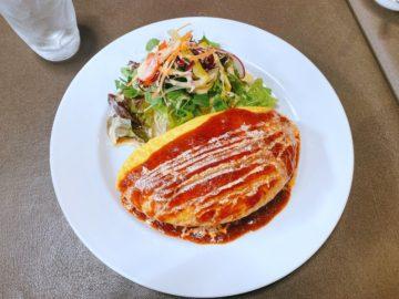 【グランメール末広(ぐらんめーるすえひろ)】帝国ホテルで修業した店主の、ふわとろオムライスが美味い!
