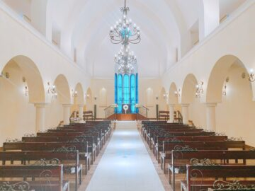 【ヴィラ・デ・マリアージュ長野】南フランスの結婚式場。1会場1組限定☆お料理も期待できる、素敵な結婚式場です!
