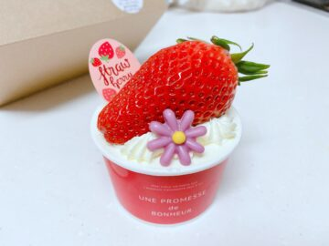 【お菓子日和(おかしびより)】でっかい苺のショートケーキカップ☆可愛いデザインのカップケーキも萌え~♪