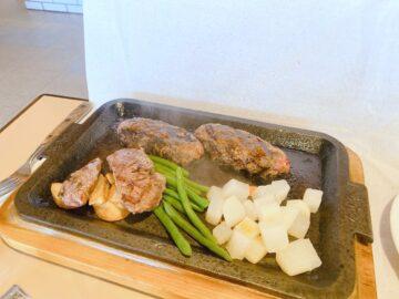 【ドンキホーテ上松店】長野地元のファミリーレストラン!国産牛の俵ハンバーグはレアでもめちゃくちゃ美味しい♪