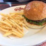 グーギーズカフェのハンバーガー