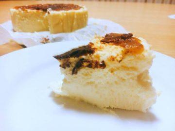 軽井沢トルタバスク風チーズケーキ