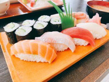 【たか寿司】テレビ信州近くにある、人気のお寿司屋さん!寿司ランチも大満足でした♪