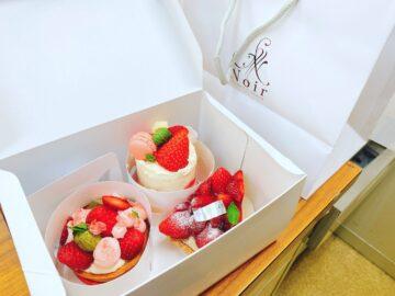 【Noir(ノアール)】チーズクリームベースの美味しいケーキ屋さん!可愛いケーキがたくさんです!