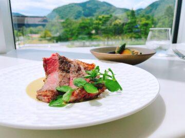 【ミュゼレストラン善】2021年4月10日新規オープン☆2021長野県立美術館の2階にあるレストラン!善光寺を眺めながら優雅にお食事が楽しめる♪