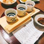 信州くらうど長野駅内 ひやおろし利き酒セット醗酵バー