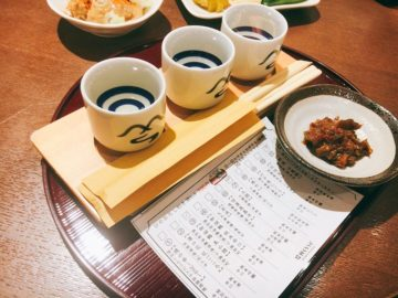【信州くらうど】長野駅内のお洒落な醗酵バー!ひやおろし利き酒セットがオススメ☆出張帰りに一人でも寄りたいお店。