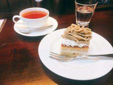 【Jazz&Coffee Bud(ジャズアンドコーヒーバド)】店内にジャズが流れる素敵なカフェ喫茶。栗のケーキも最高に美味しかった!