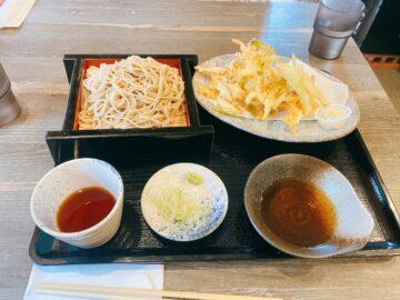 【天ぷらと手打ち蕎麦 さわの庵】お蕎麦美味しい!おつまみも多くて昼から居酒屋としても楽しめる!