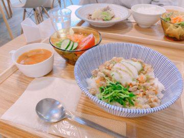 【ロジェ食堂 岡田町店】長野市中御所にある可愛いカフェ!手作りの美味しいごはんが食べられる。