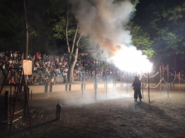 長野市栗田のお祭り