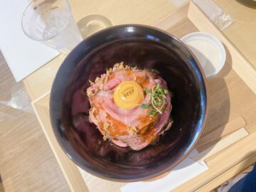 【ローストビーフ丼専門店sunday BEEF(サンデービーフ)】2021年7月2日新規オープン!肉の旨味もしっかり感じられるローストビーフ丼☆
