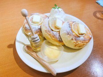 【トワサンク】ふわっふわなパンケーキ♡はちみつレモンパンケーキがめちゃくちゃ美味い☆