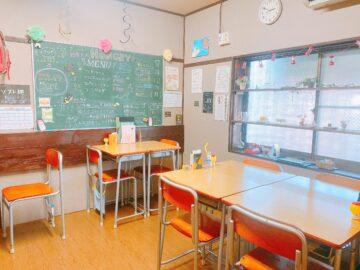 【給食カフェハングリー】懐かしい学校の給食!シークレット給食は何だったんだろう?