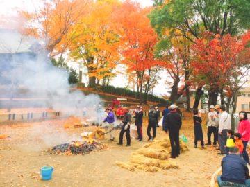 栗田で嬉しいイベント☆寒くなってきたこの季節。安納芋で焼き芋大会が行われました。