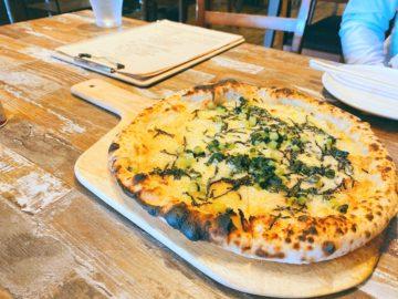 【シロッコ ピザ&ワイン酒場】野沢菜とたらこのピザが美味しい!雰囲気もいいイタリアン!