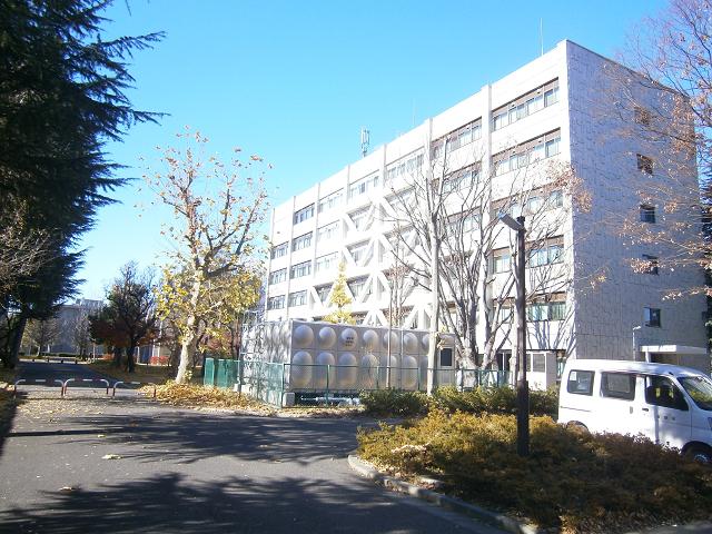 信州大学工学部の長野キャンパス