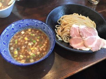 【つけそば専門店  極一】長野市高田 超濃厚スープ。元気が貰えます♪