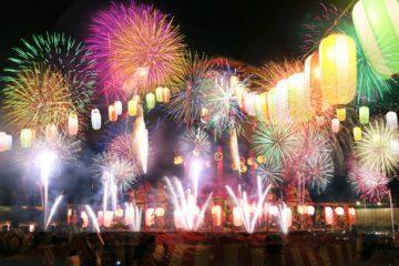 【長野えびす講煙火大会】2019年花火大会が中止になりました。1988年以来の中止となります。